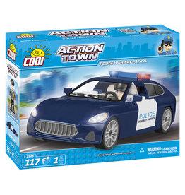 COBI COBI - Action Town 1548 - Snelweg Politie