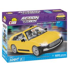 COBI COBI - Action Town 1804 - Sportscar Convertible Yellow