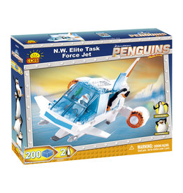 COBI COBI Penguins 26203 - N.W. Elite Task Force Jet
