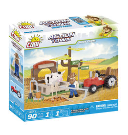 COBI COBI Action Town 1873 - Dairy Farm