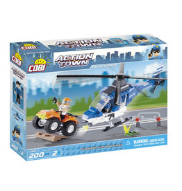 COBI COBI - Action Town 1563 - Politie Helicopter