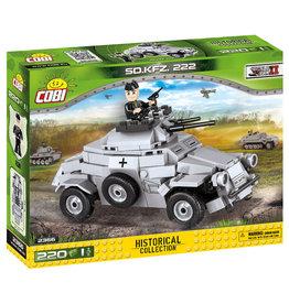 COBI COBI  WW2 2366 - Sd.Kfz.222 Panzerwagen