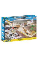 COBI COBI  WW2 5546 - Spitfire Mission Hangar