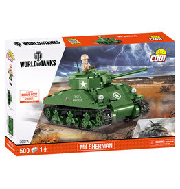 COBI COBI World of Tanks 3007A M4 Sherman A1-Firefly