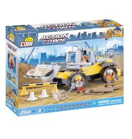 COBI COBI - Action Town 1664 - Bulldozer