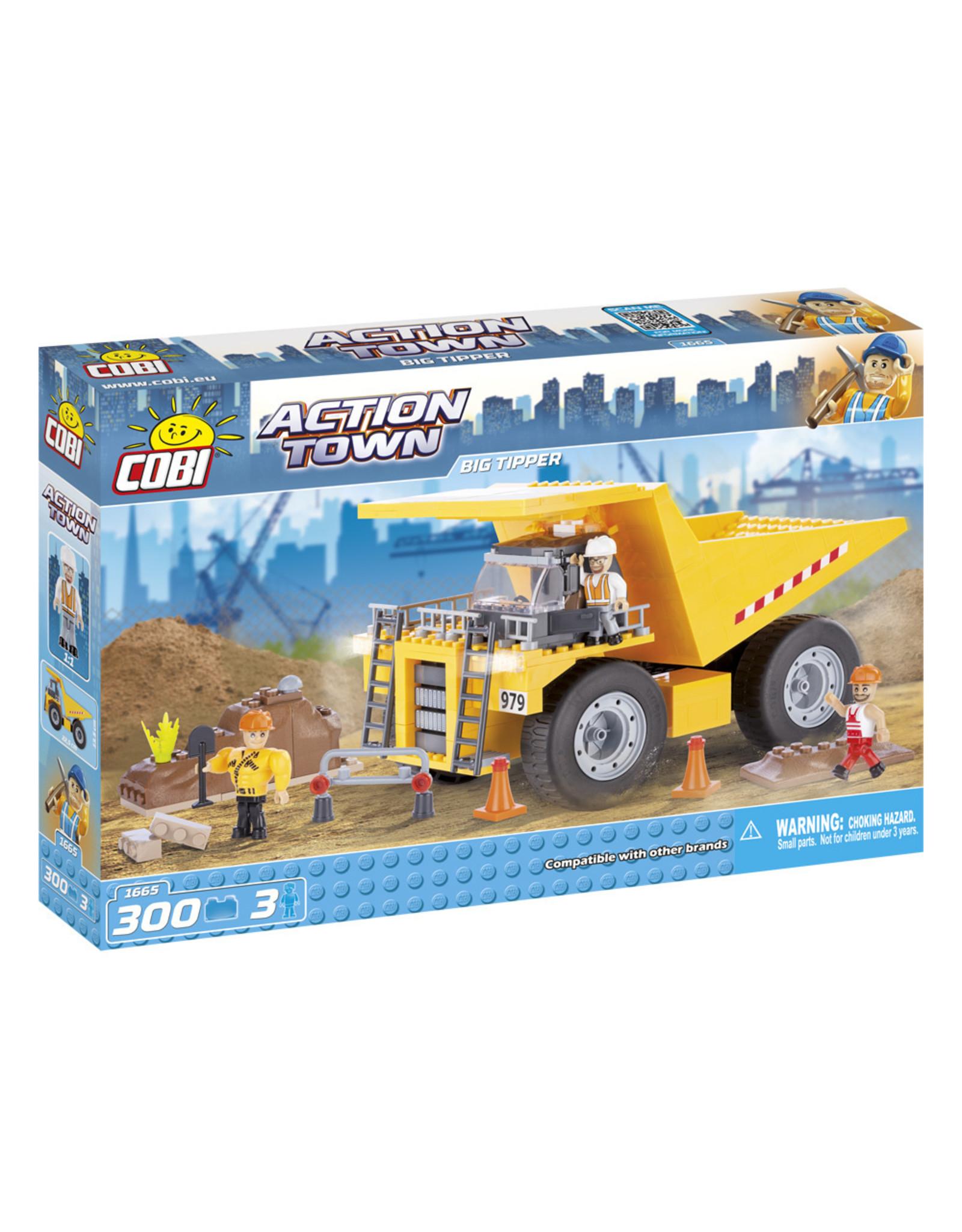 COBI COBI Action Town 1665 - Grote Kiepwagen