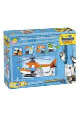 COBI COBI Penguins 26160 - Helikopter met Dematerializer