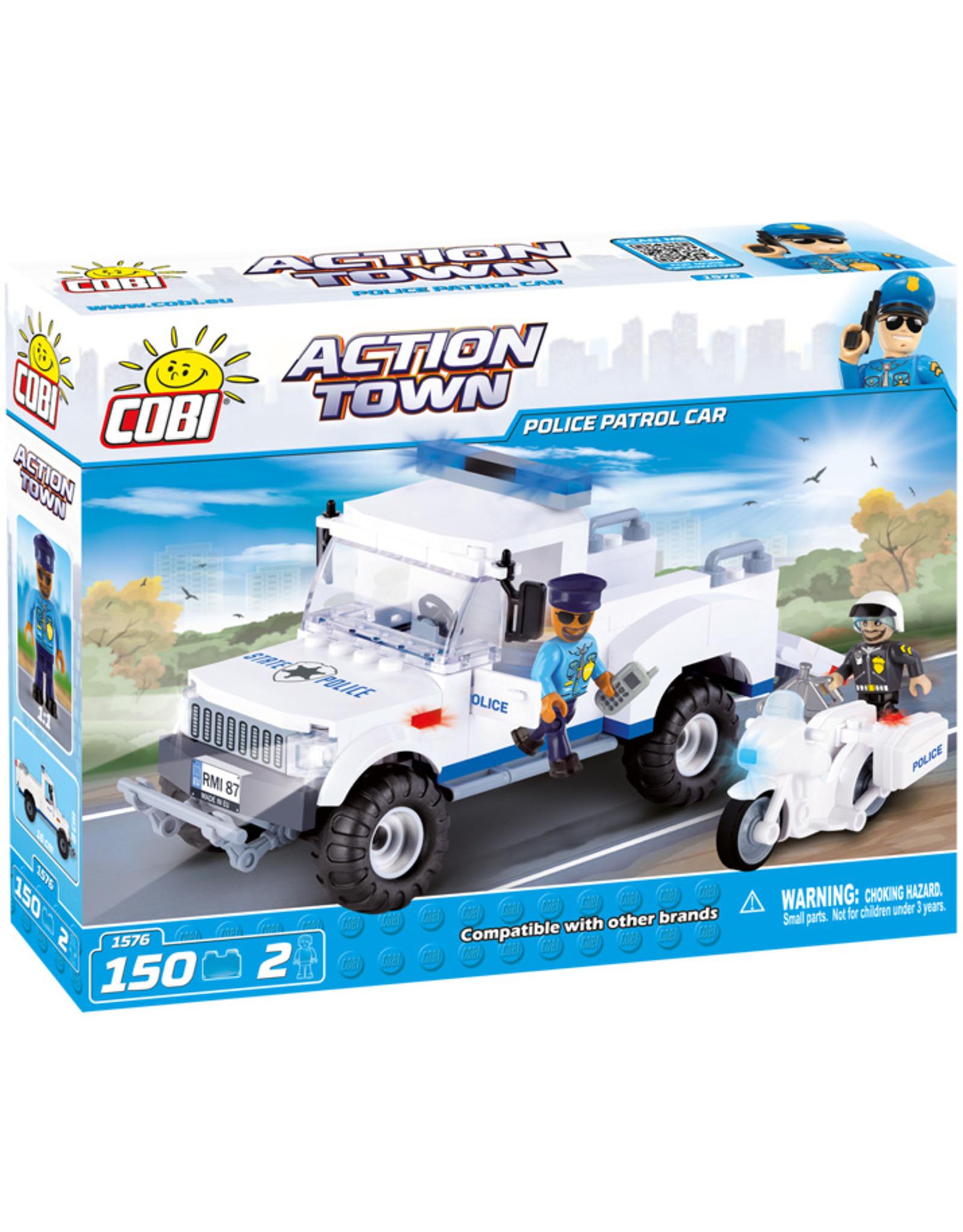 COBI COBI - Action Town 1576 - Politie patrouillewagen