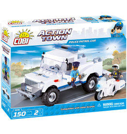 COBI COBI - Action Town 1576 - Police patrol car