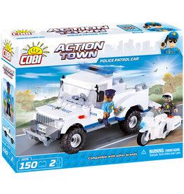COBI COBI - Action Town 1576 - Polizei Streifenwagen