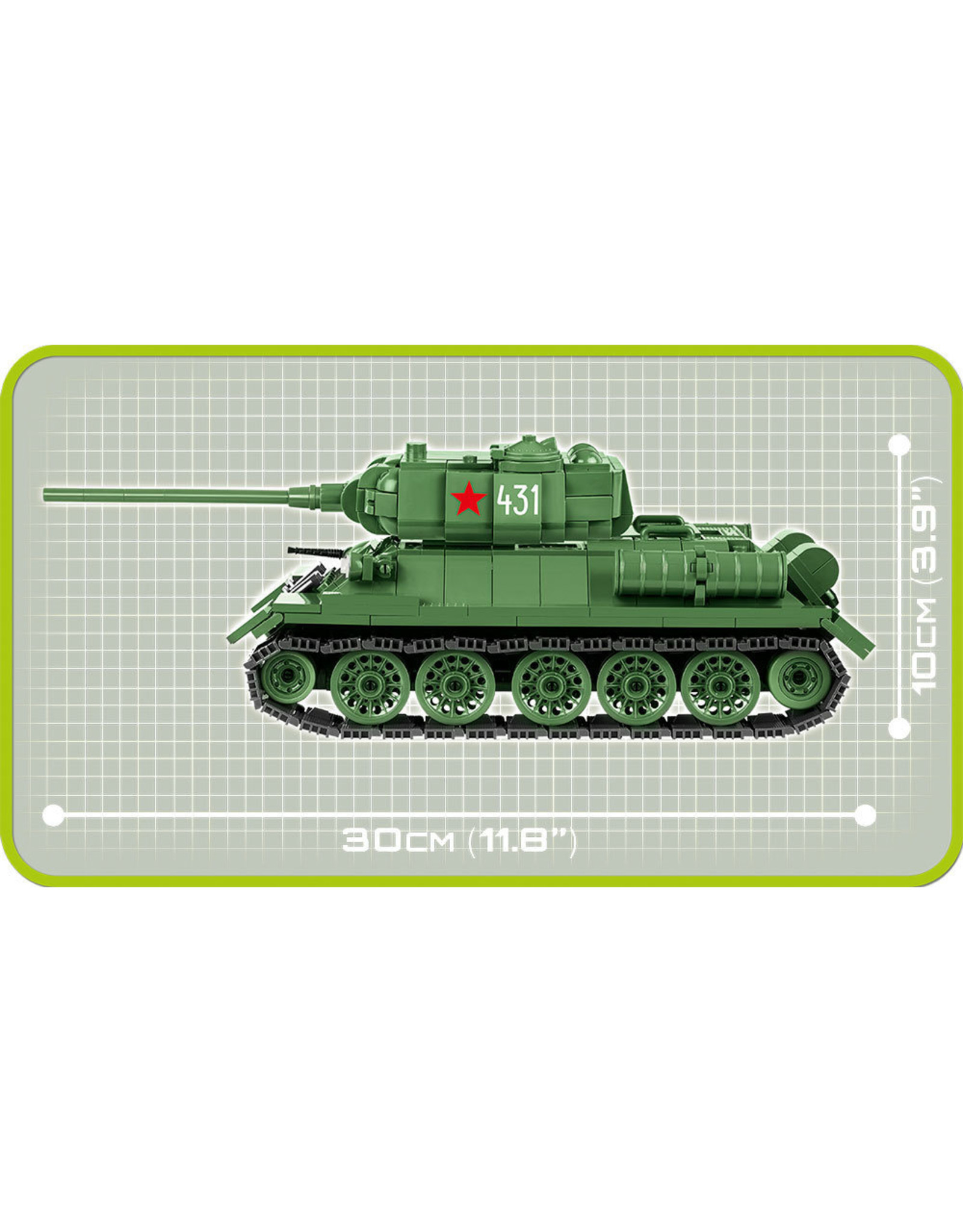 COBI COBI WW2 2476A - T-34/85