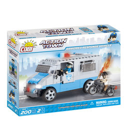 COBI COBI - Action Town 1568 - Police Armored Response Vehicle