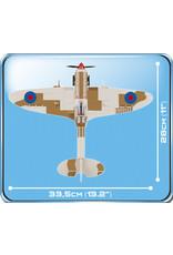 COBI COBI  WW2 5545 - Spitfire Dessert Airstrip