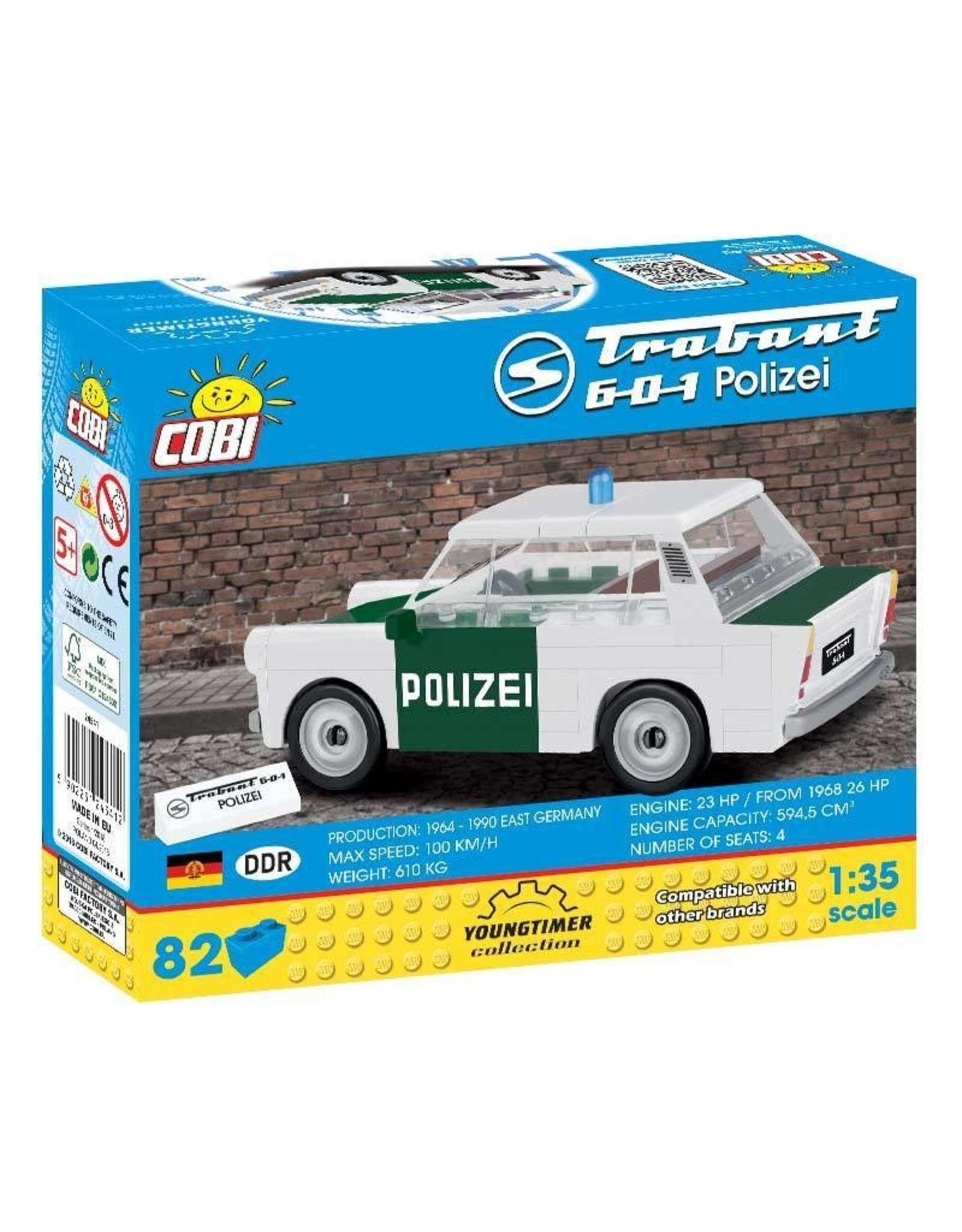 COBI COBI 24541 - Trabant 601 Polizei