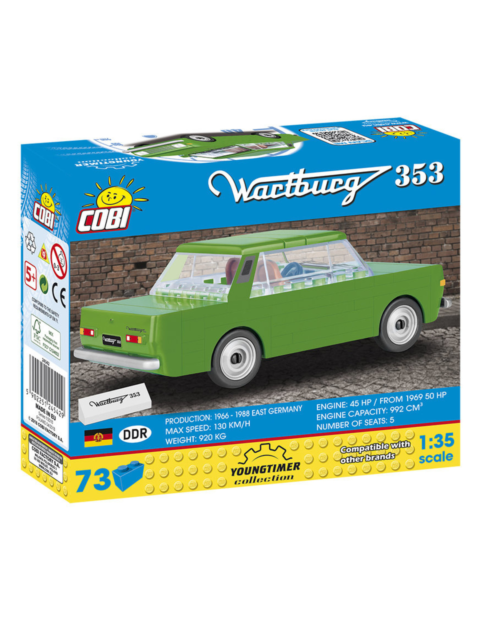COBI COBI 24542 - Wartburg 353