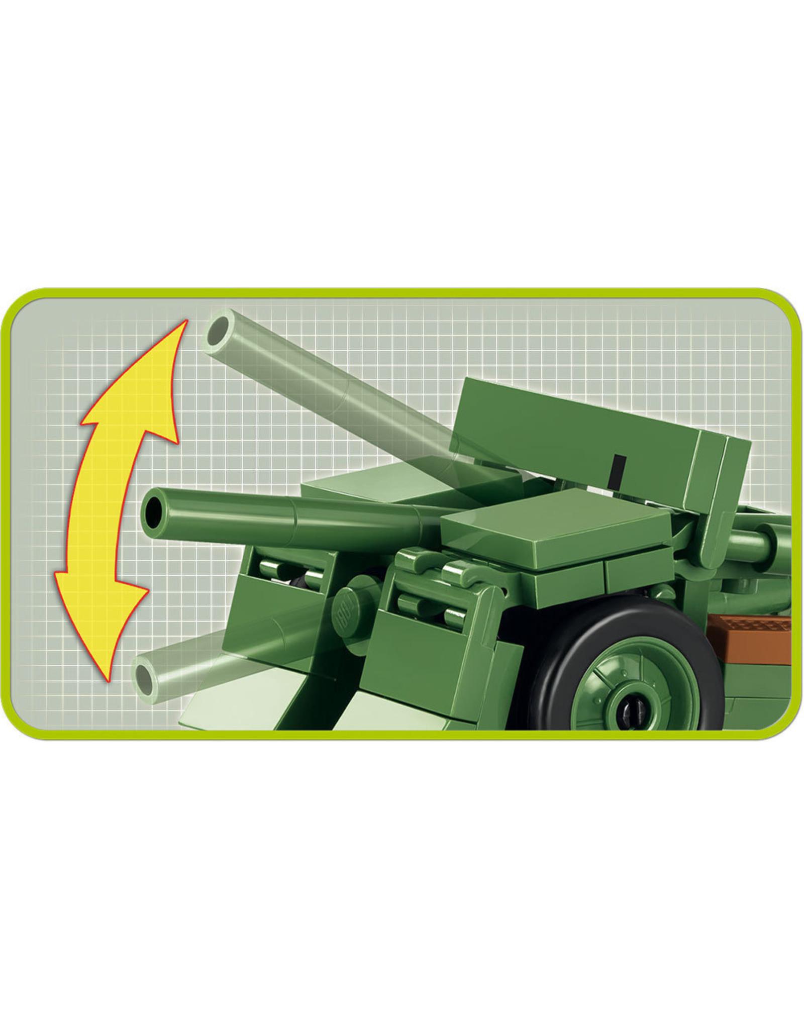 COBI COBI WW2 2159 - 37mm WZ36 Bofors kanon