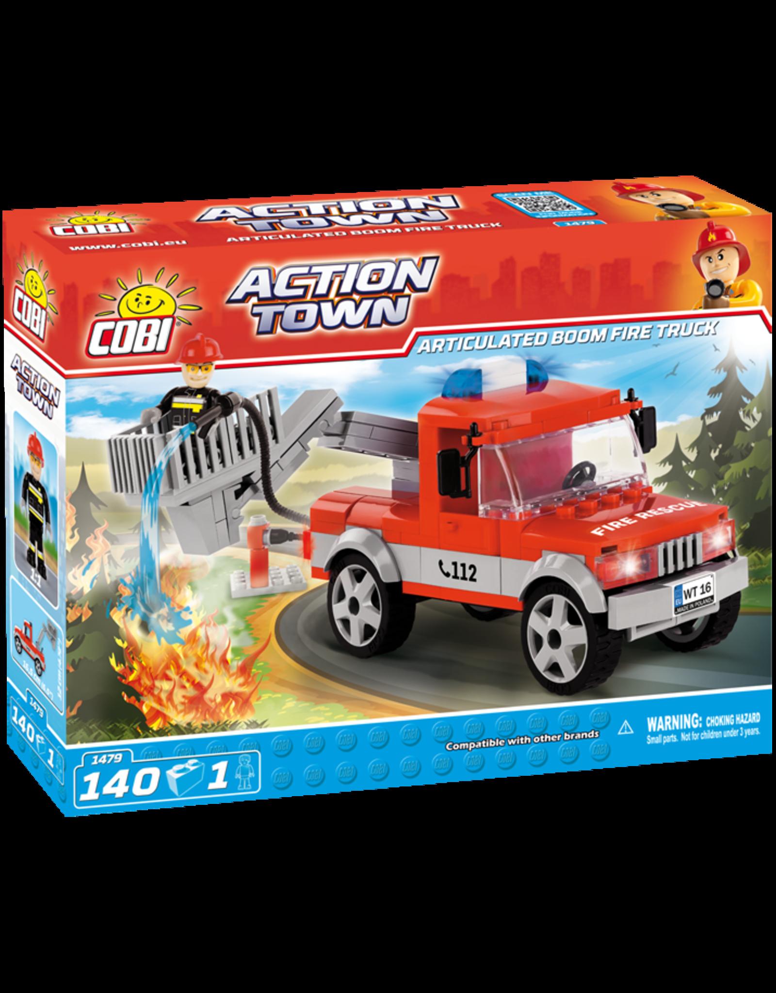 COBI COBI - Action Town 1479 - Boom Brandweerwagen