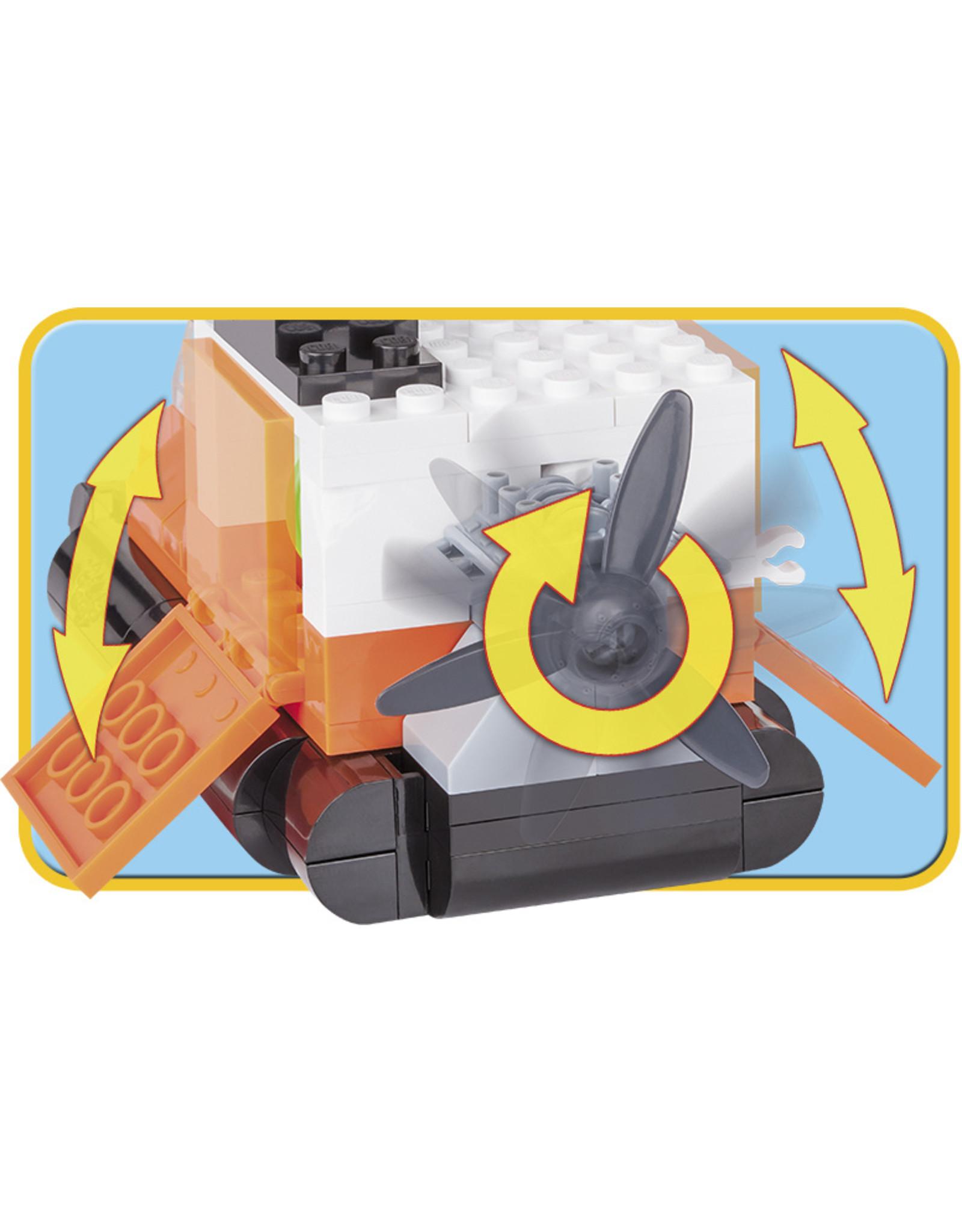 COBI COBI - Action Town 1783 - Hovercraft