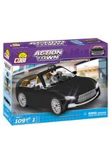 COBI COBI - Action Town 1803 - Sportcar Zwart Cabrio