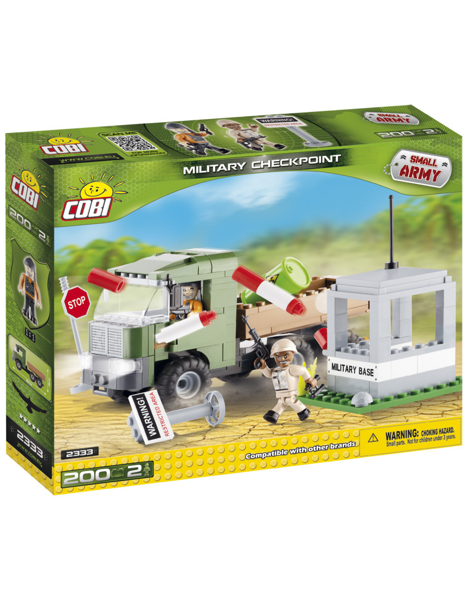 COBI COBI  2333 - Militair Checkpoint
