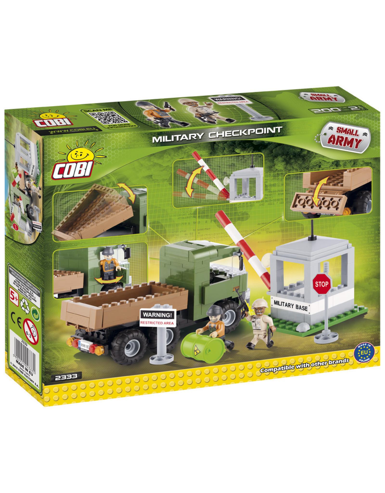 COBI COBI  2333 - Military Checkpoint