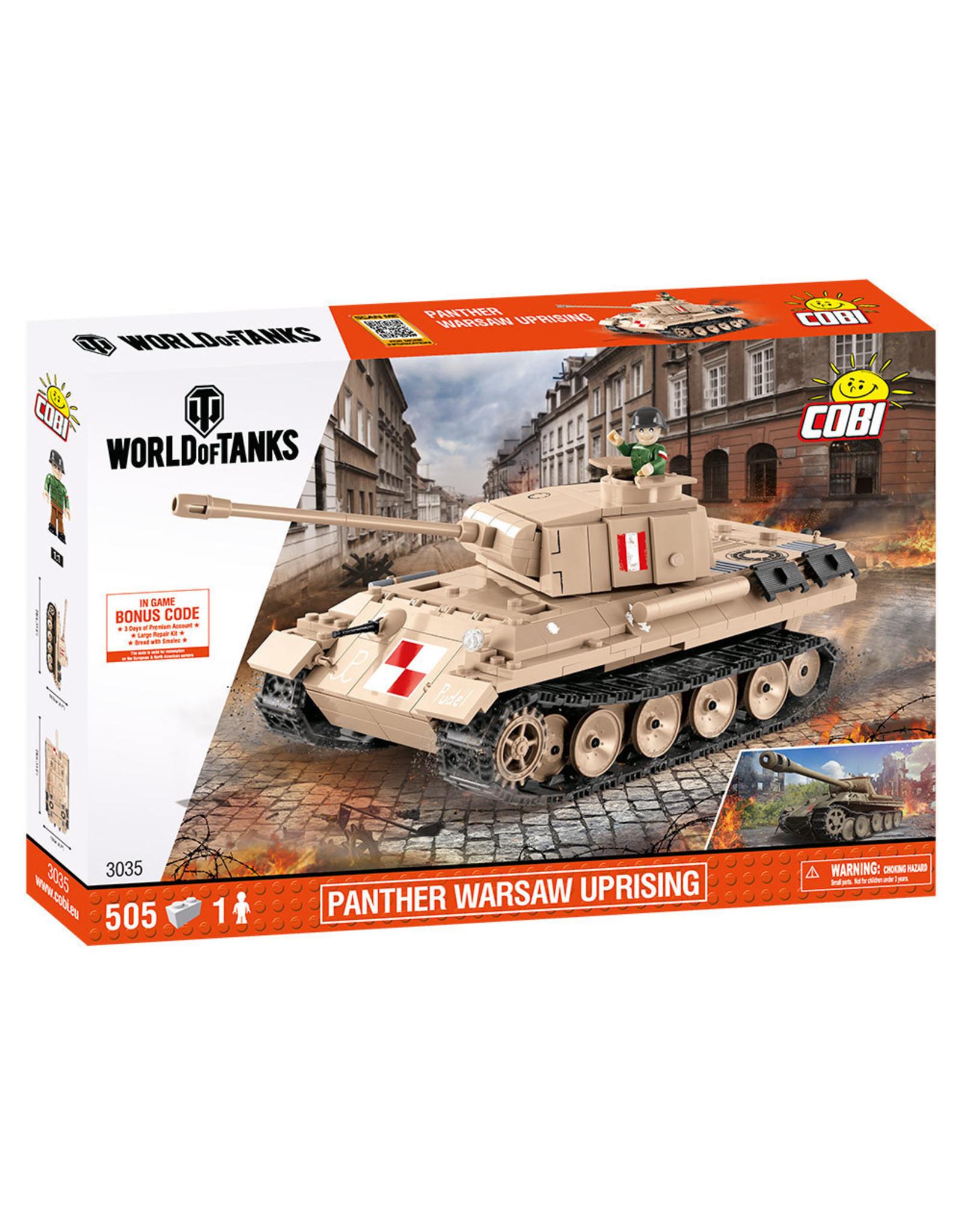 COBI COBI  World of Tanks 3035 Panther Warschau