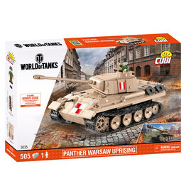 COBI COBI  World of Tanks 3035 Panther Warschau