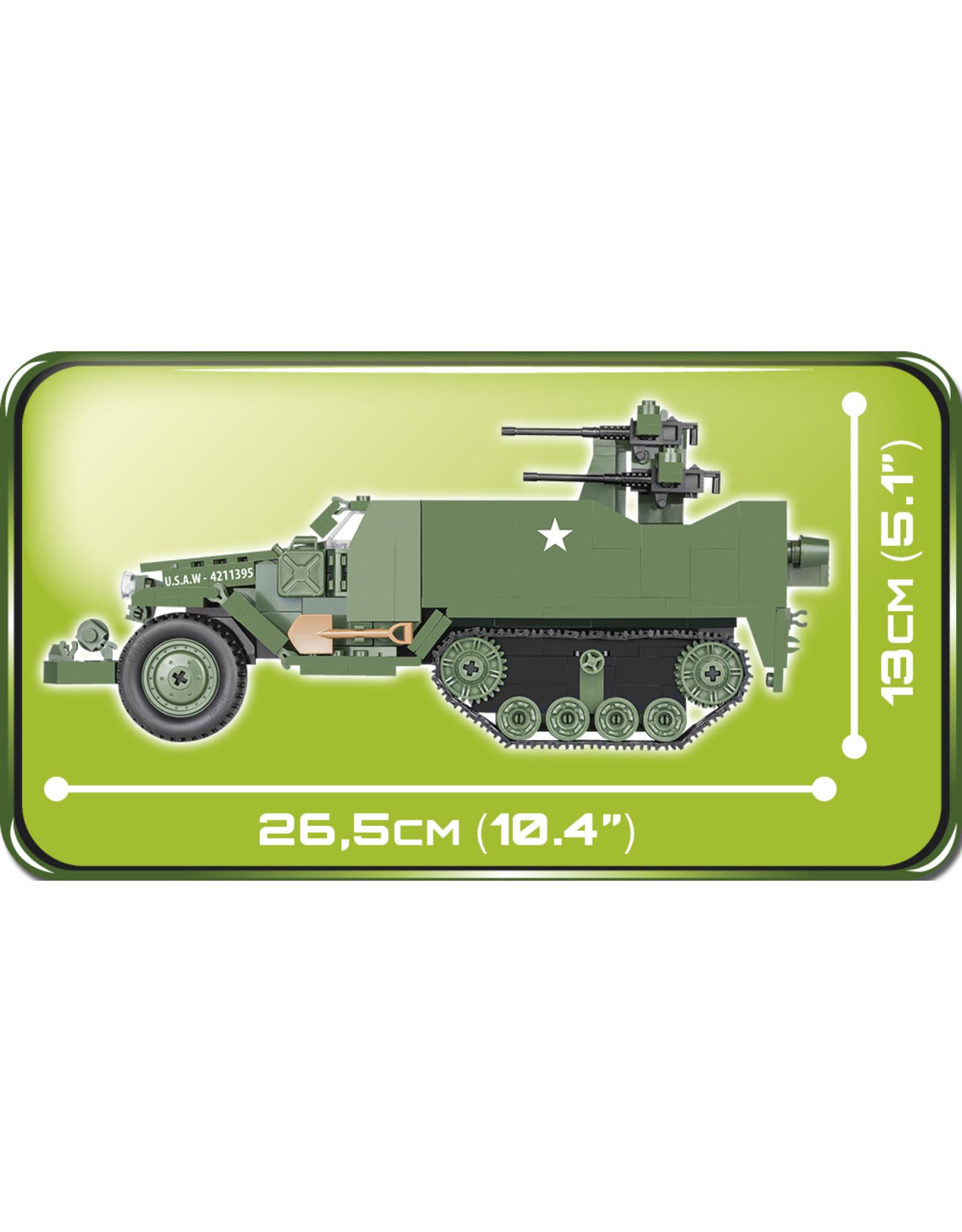COBI COBI  WW2 2499 - M16 Half track