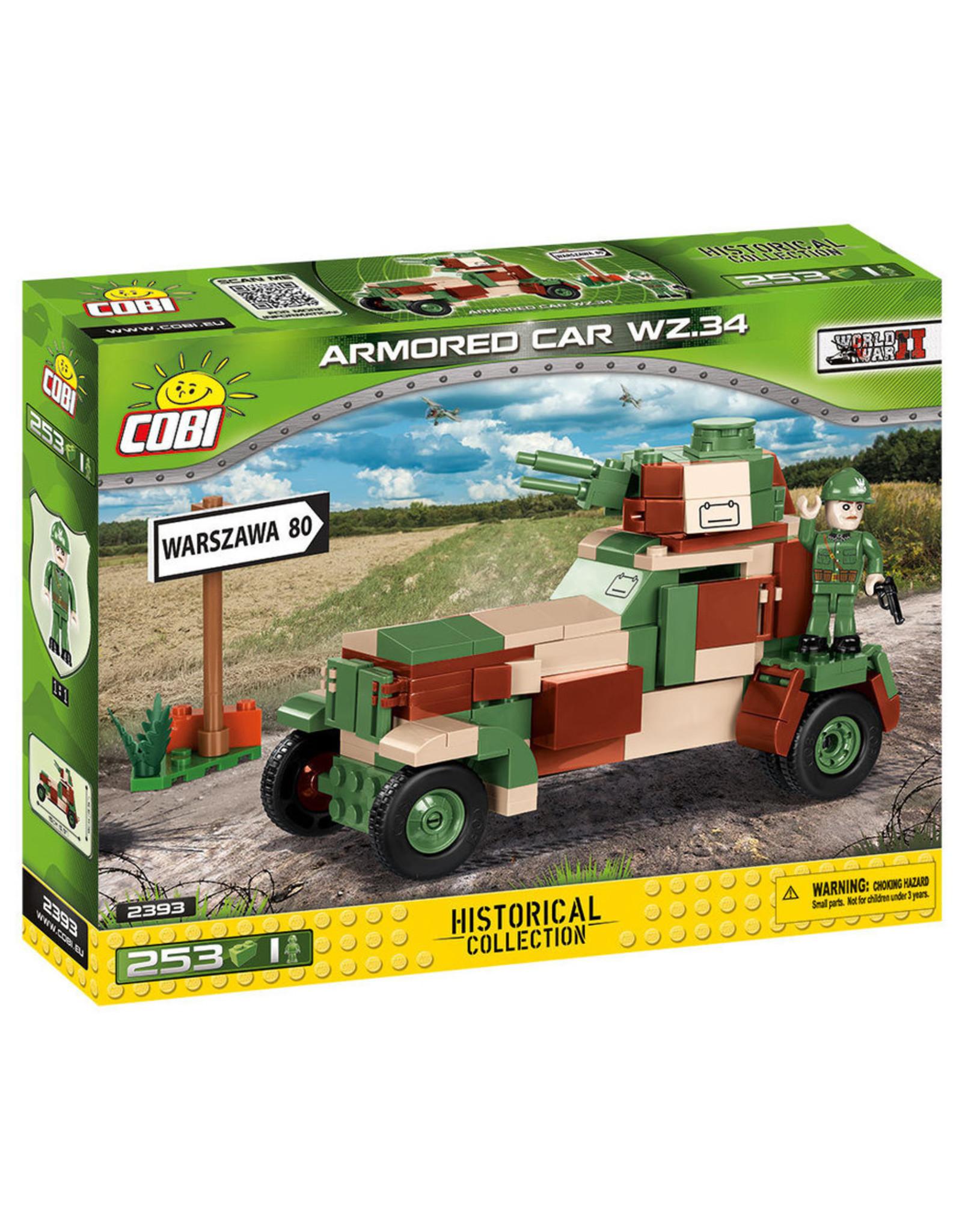 COBI COBI WW2 2393 - Armored Car WZ.34