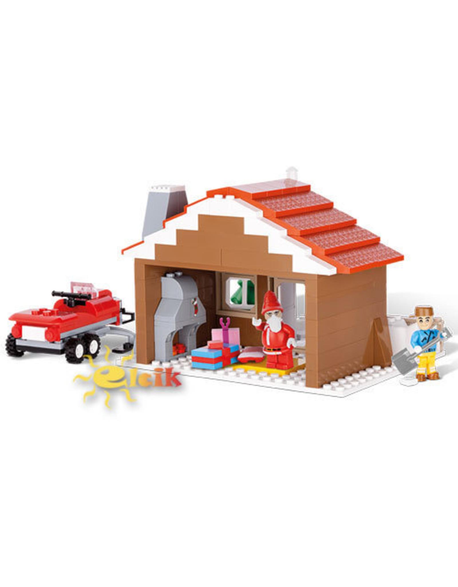 COBI COBI - Kerstman huis 28020