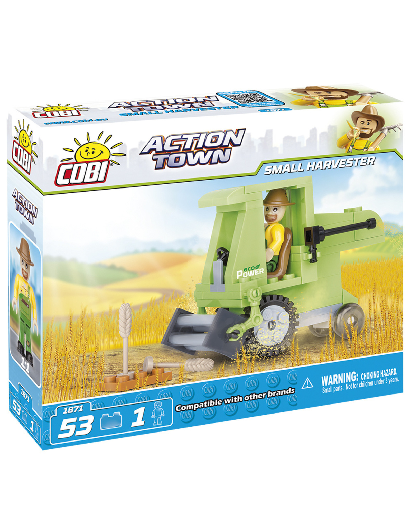 COBI COBI Action Town 1871 - Small harvester