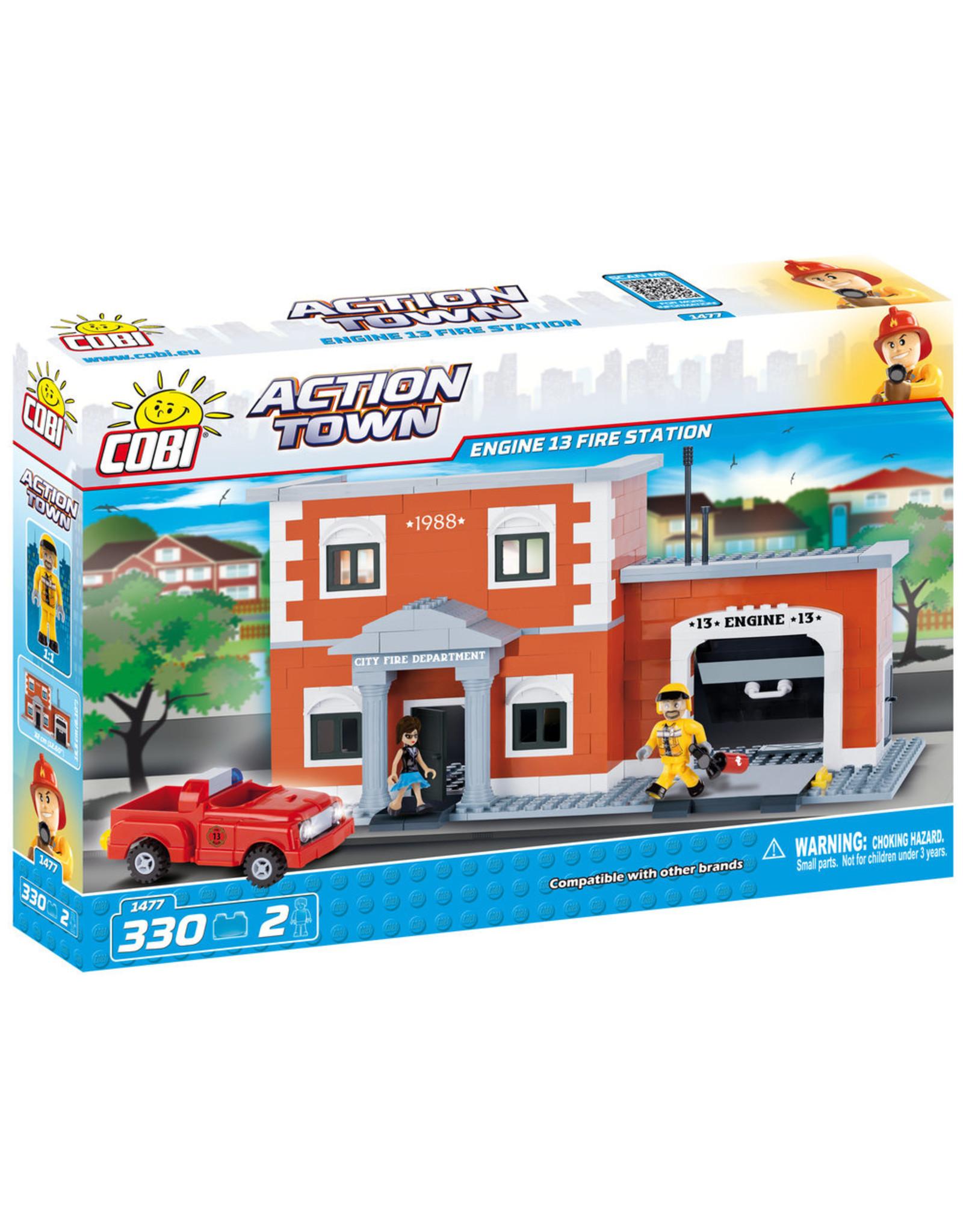 COBI COBI Action Town 1477 - Feuerwache