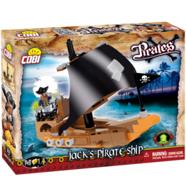 COBI COBI Pirates Jacks Schip 6019