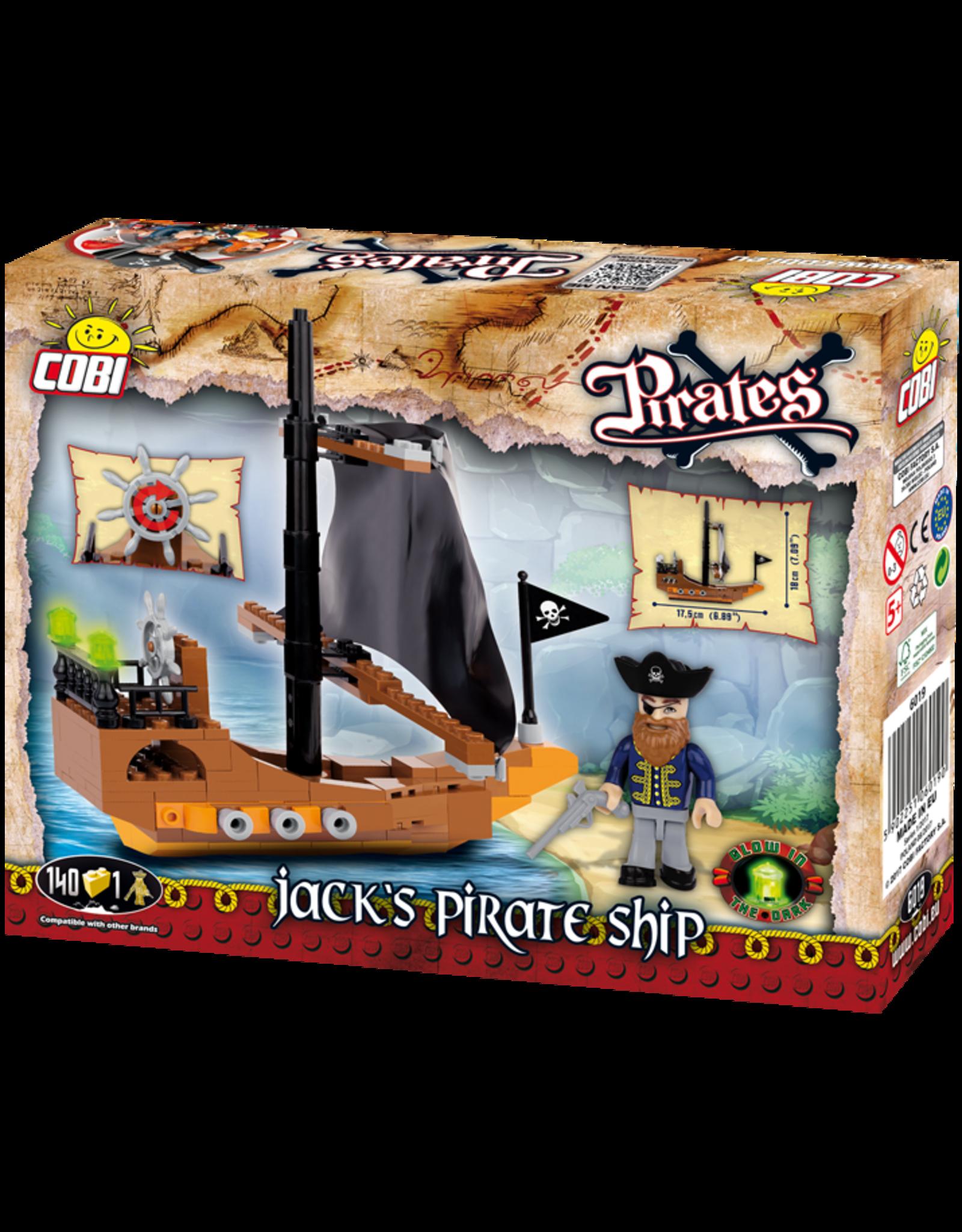 COBI COBI Pirates Jacks Schip 6019