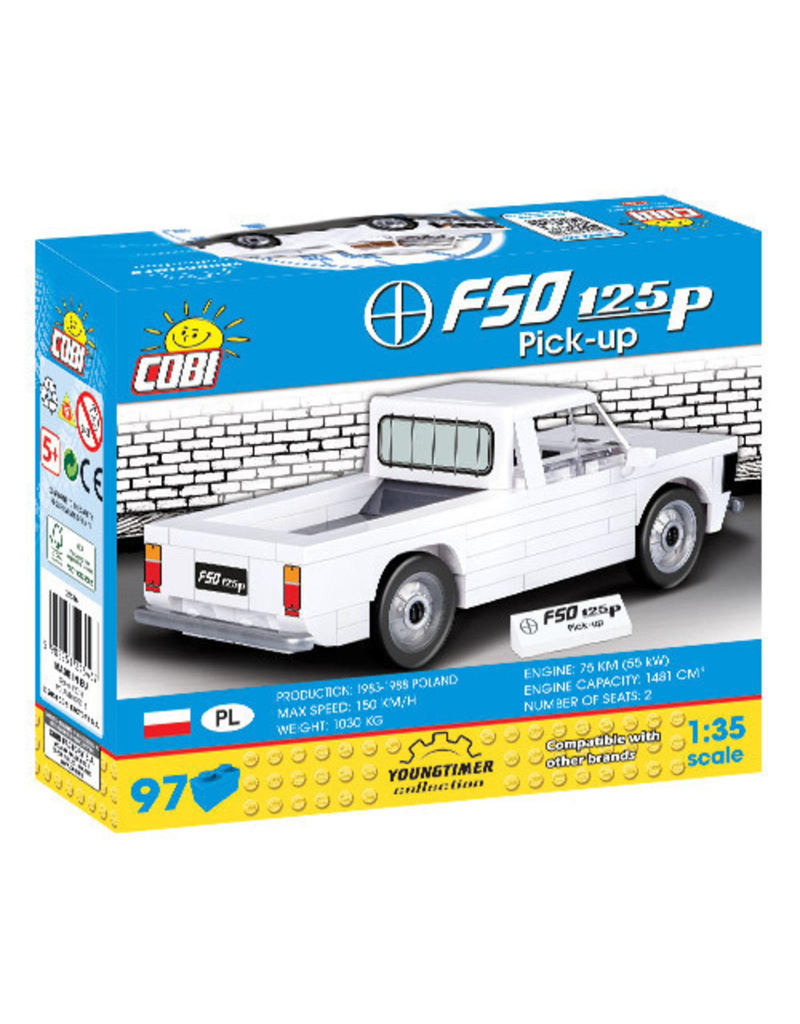 COBI COBI 24546 - FSO 125P Pick up