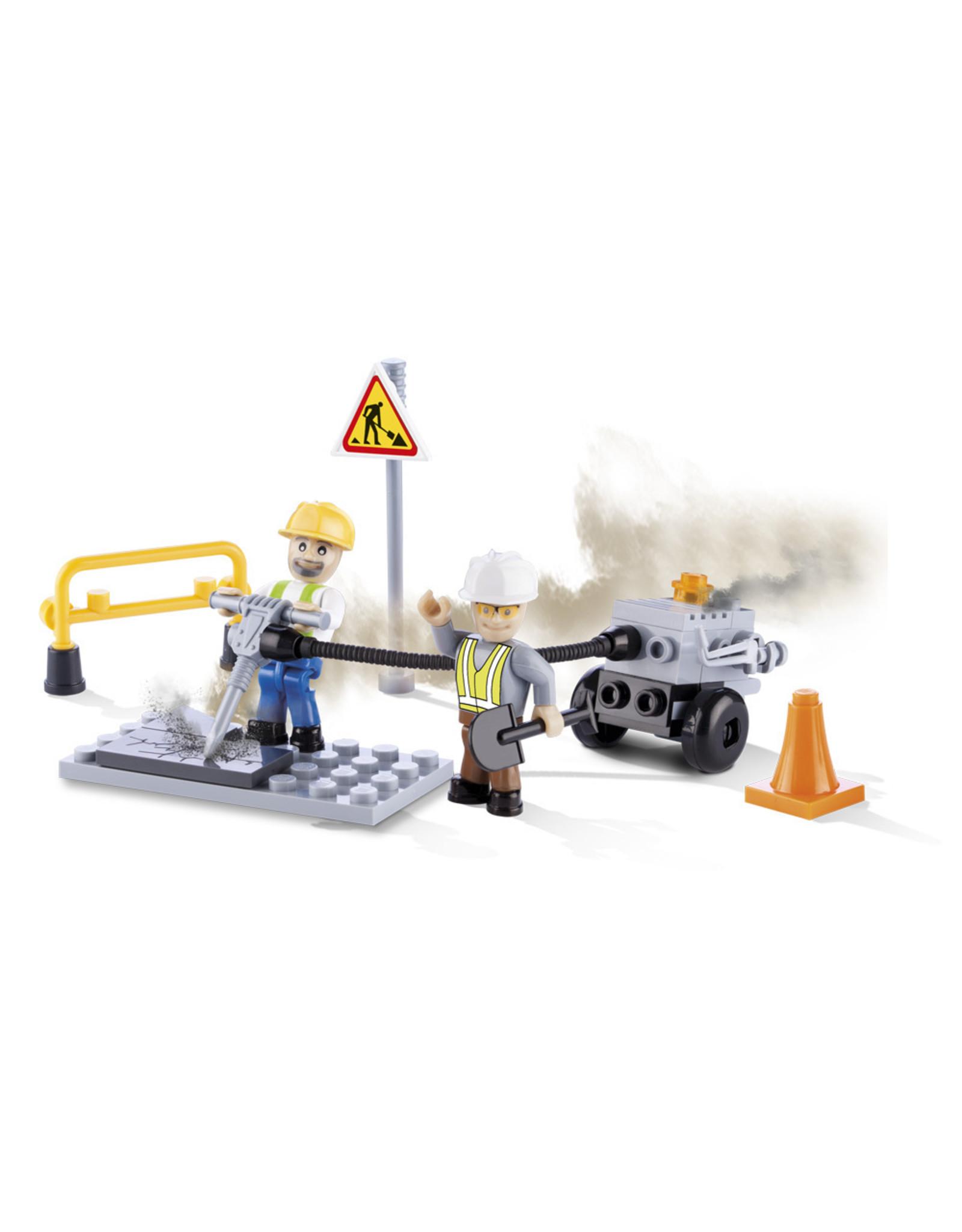 COBI COBI - Action Town 1660 - Road Works