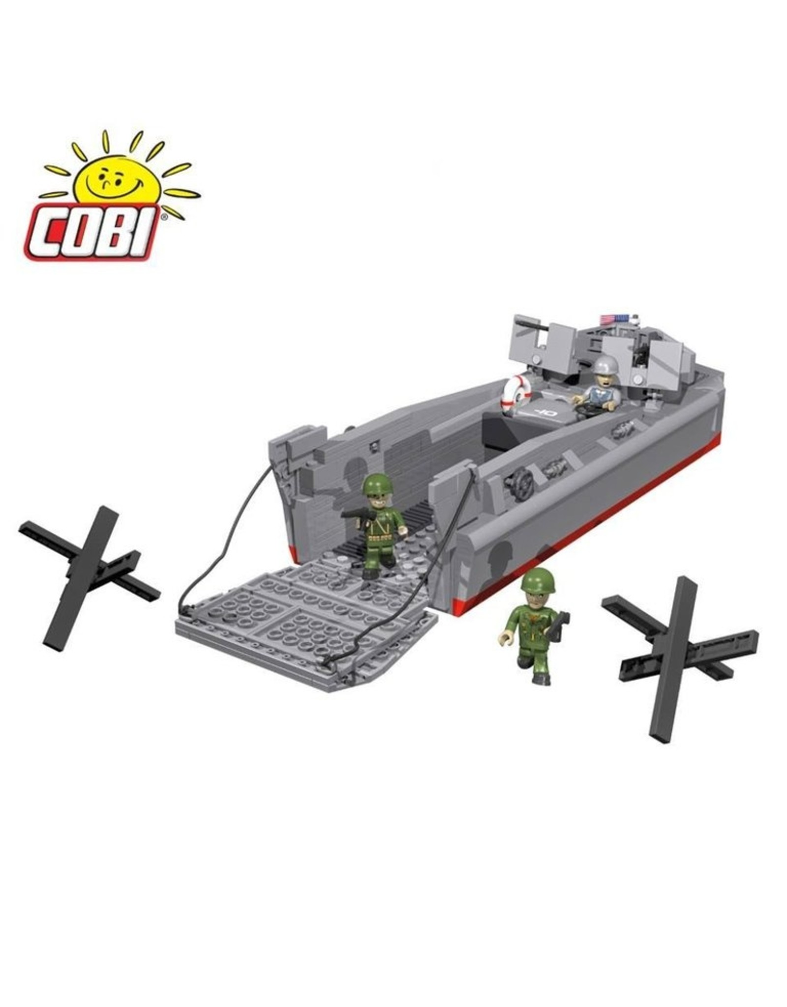COBI COBI WW2 4813 LCVP- Higgins Boot