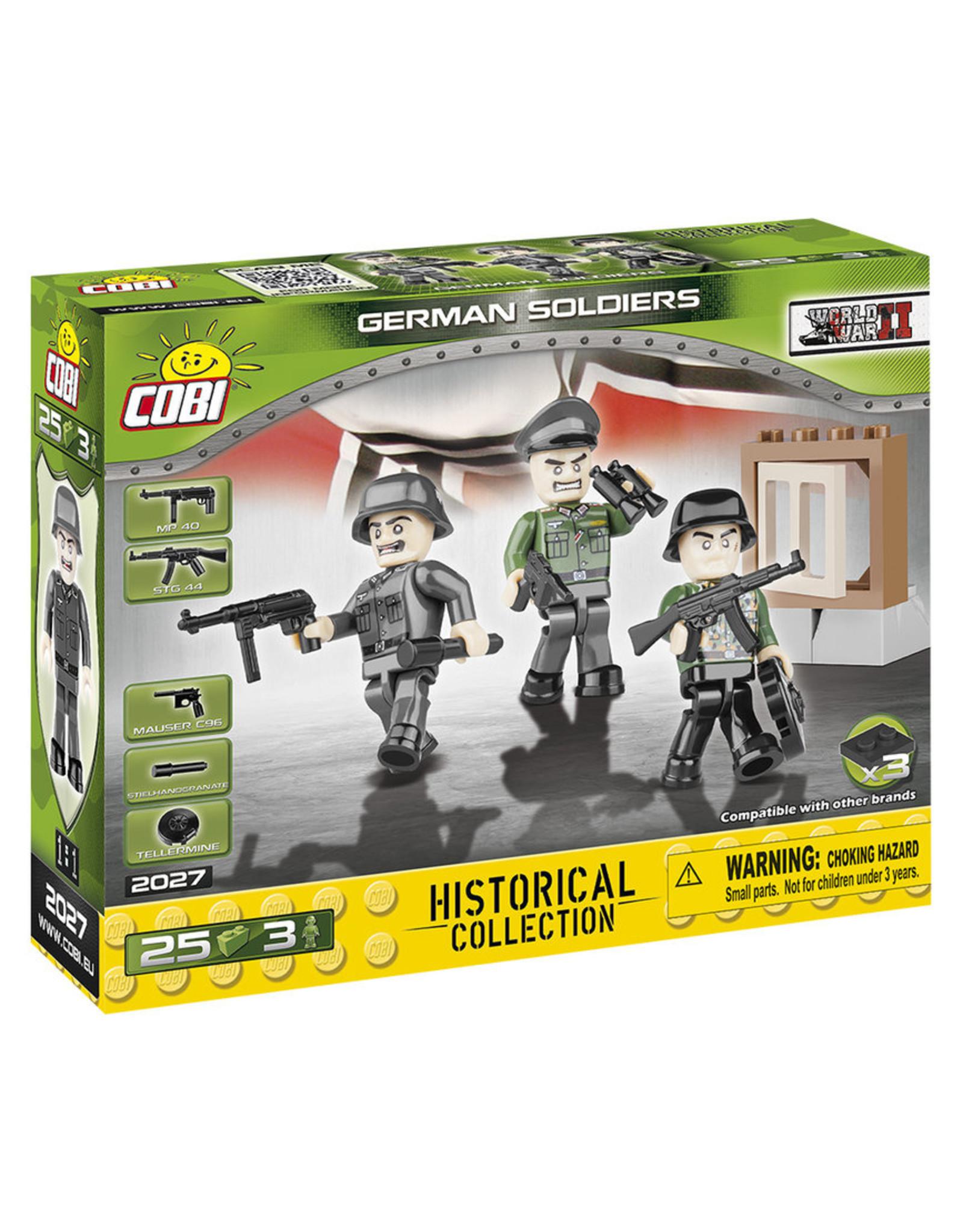 COBI COBI WW2  2027 - Figures German