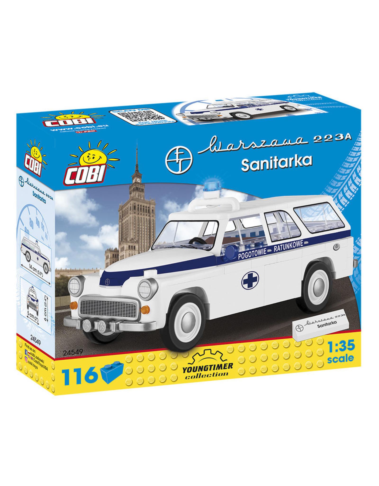 COBI COBI 24549 - Warszawa 223K Ambulance