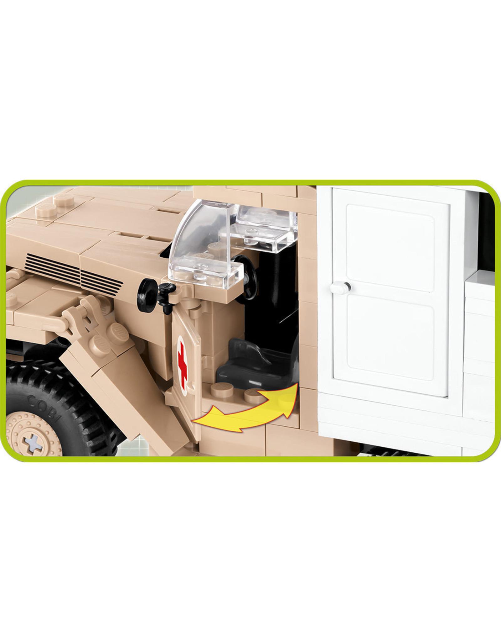 COBI COBI WW2 2518 - Ford V3000S Maultier Ambulance