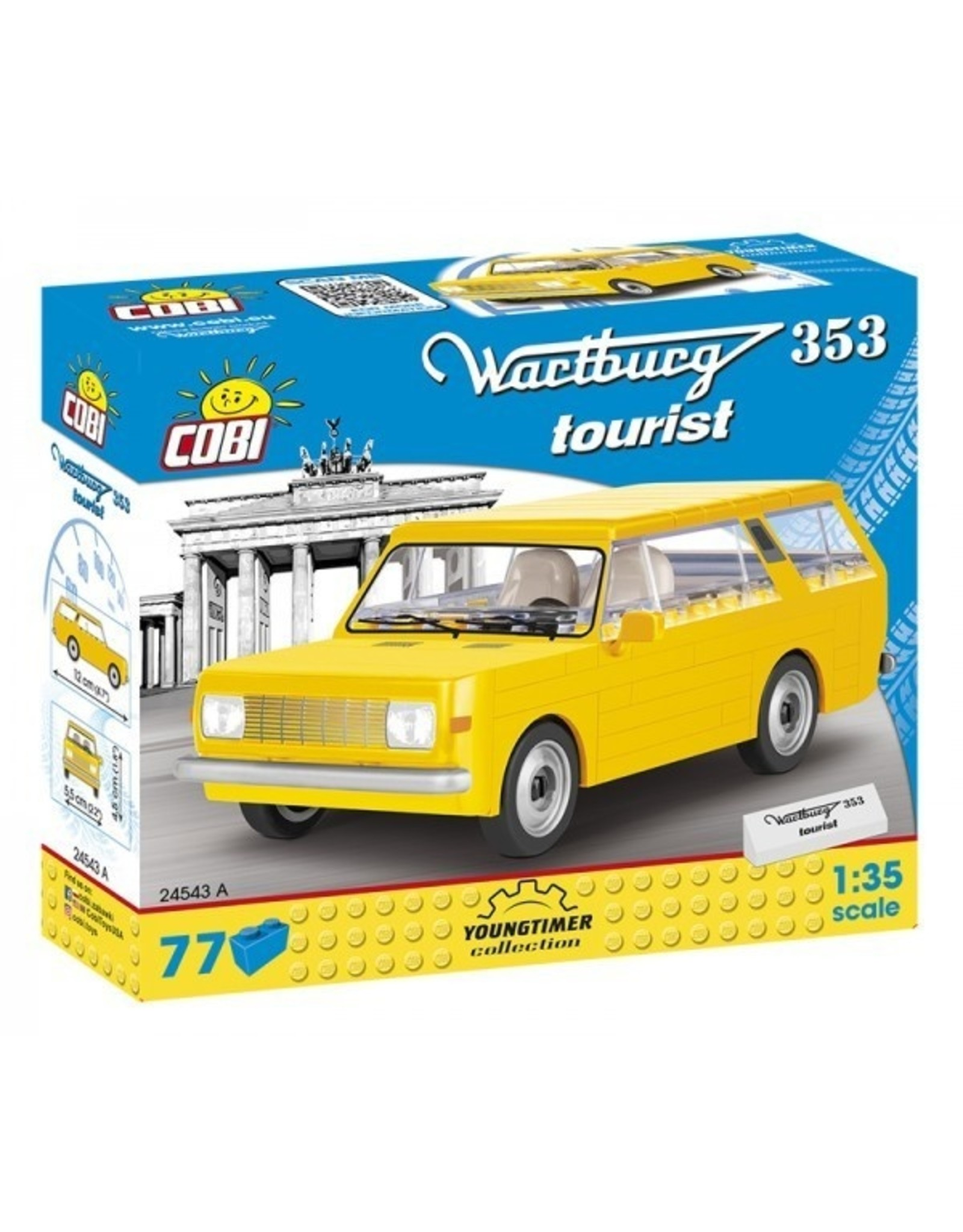 COBI COBI 24543A - Wartburg 353 Toerist