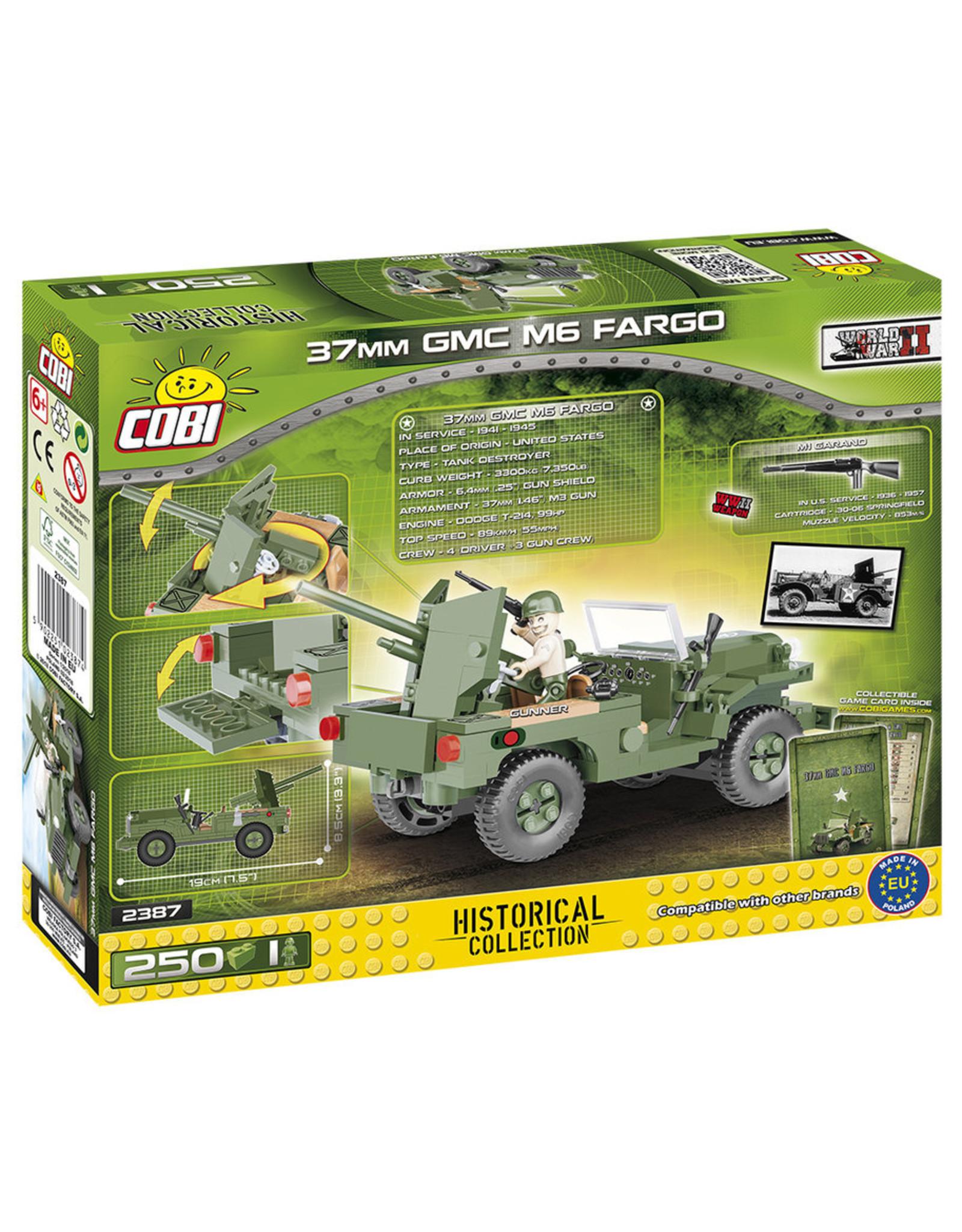 COBI COBI WW2 2387 - GMC M6 Fargo