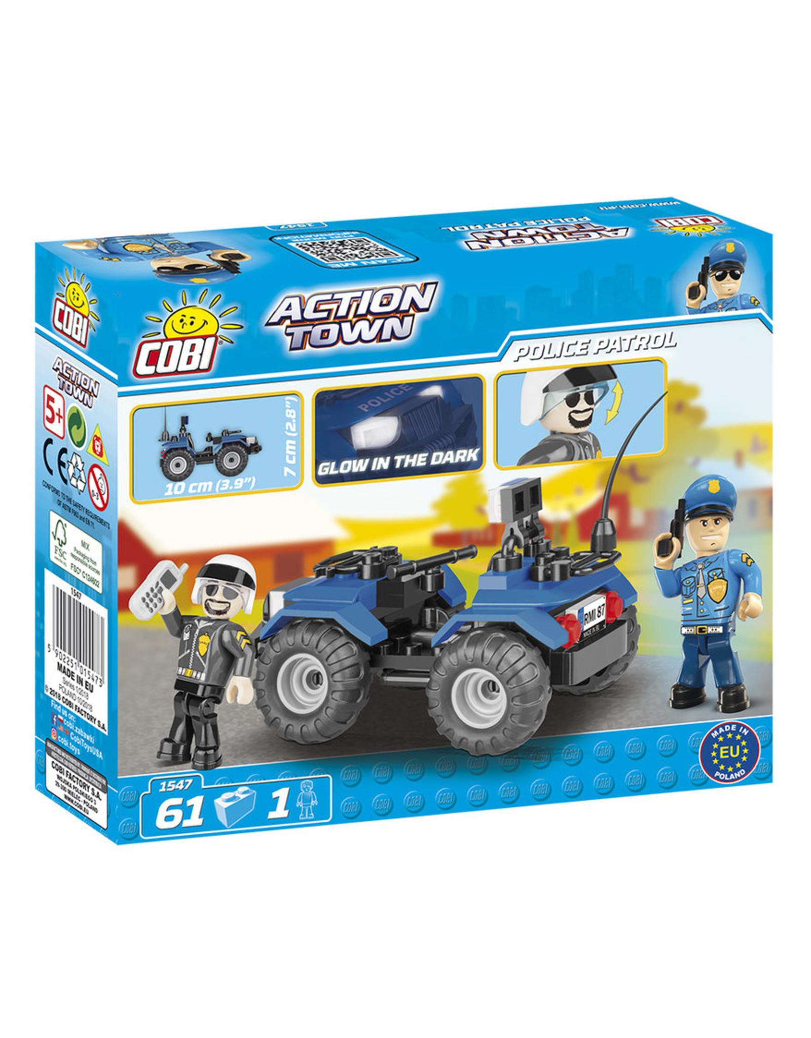 COBI COBI - Action Town 1547 - ATV Police Patrol