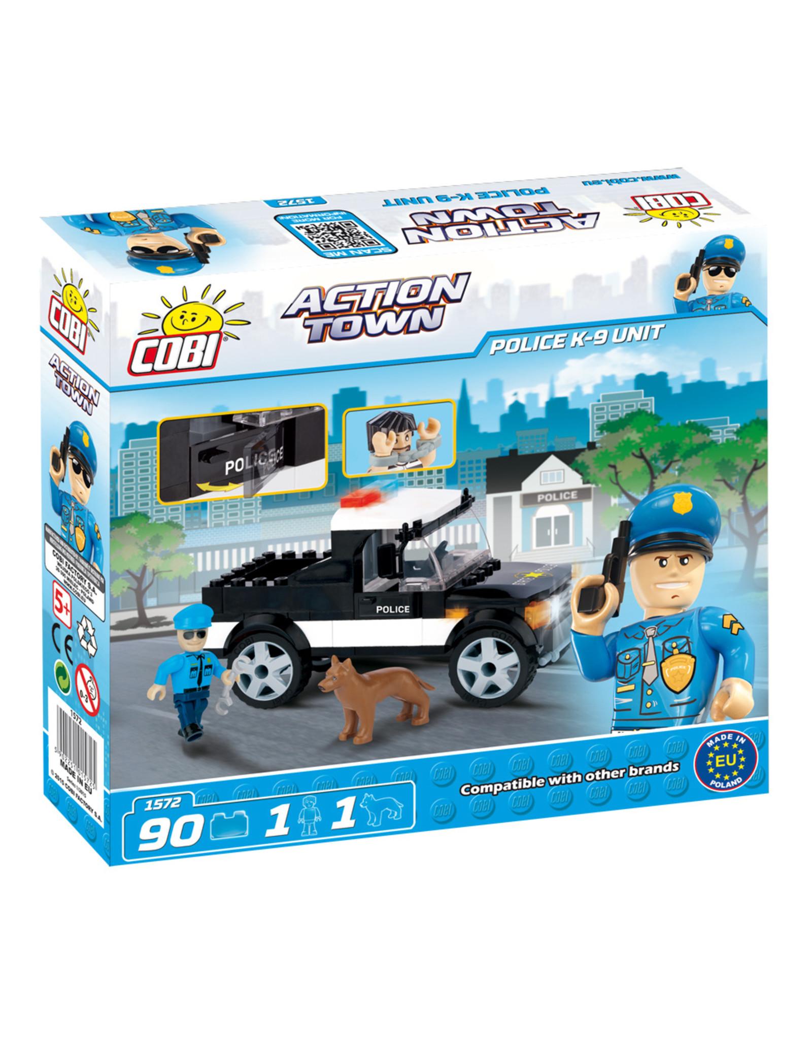 COBI COBI - Action Town 1572 - Politie K-9 Eenheid