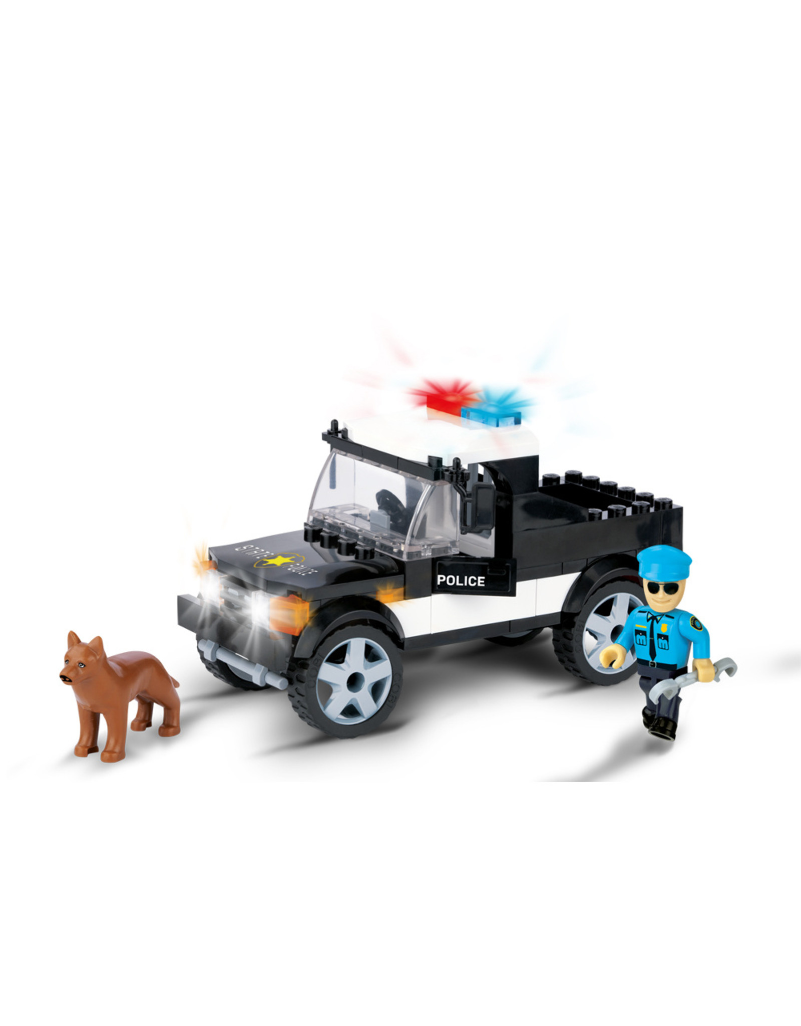 COBI COBI - Action Town 1572- Police K-9 Unit