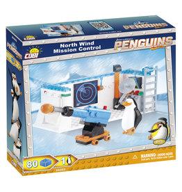 COBI COBI Penguins 26082 - North Wind Mission Control