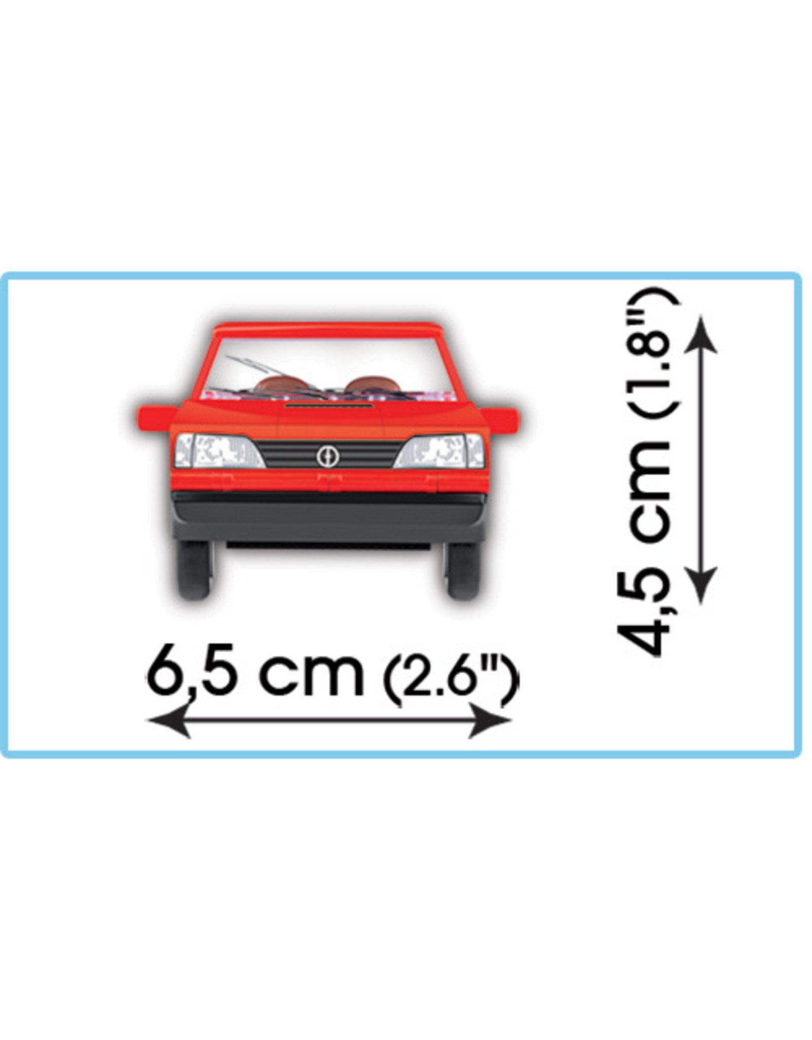 COBI COBI 24536 - FSO Polonez Caro