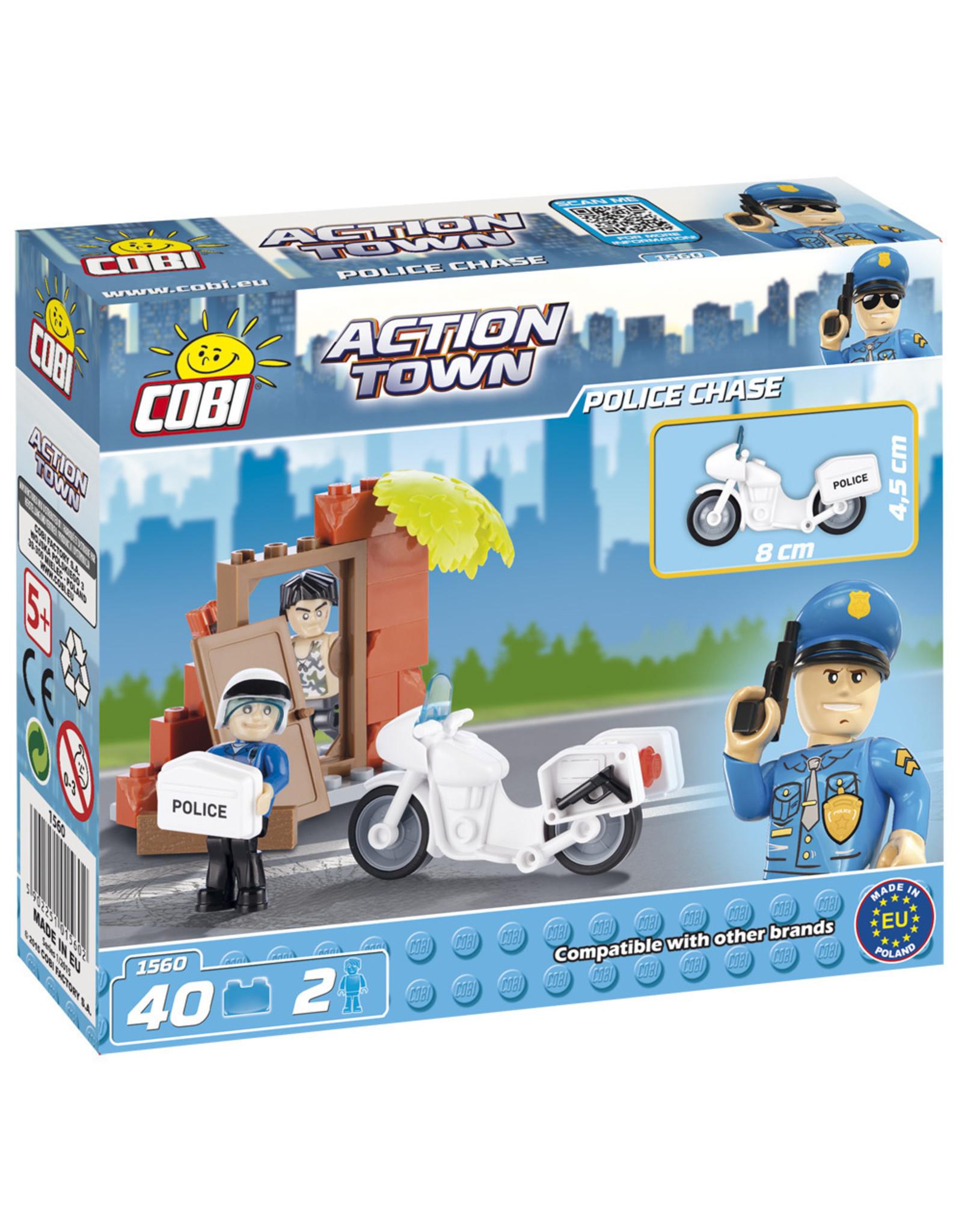 COBI COBI - Action Town 1560 - Politie Achtervolging