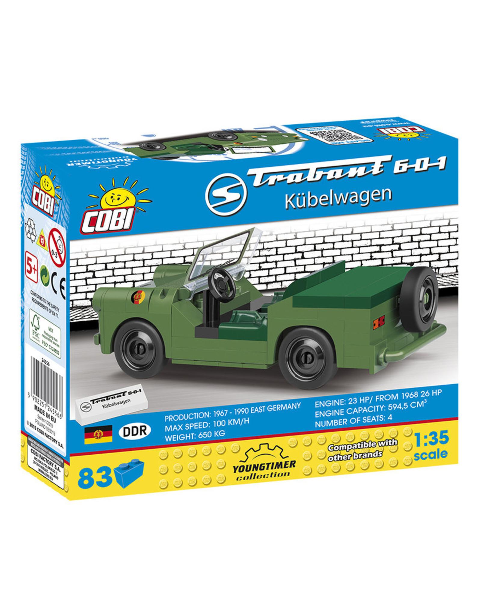 COBI COBI 24556 - Trabant 601 Kubelwagen