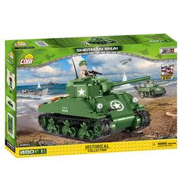 COBI COBI WW2 2464 - Sherman M4A1 75th Anniversary of D-Day